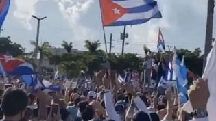 """""""Abaixo a Ditadura"""": Povo desesperado sai às ruas contra o governo cubano (veja o vídeo)"""