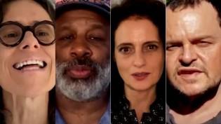 Artistas egocêntricos, movidos a dinheiro e aplausos, mostram suas caras e pedem impeachment