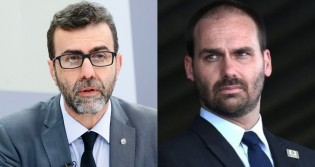 Freixo chega ao nível máximo de estupidez, acusa Bolsonaro por temporais na Europa e leva invertida de Eduardo Bolsonaro