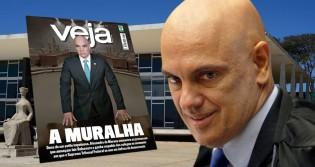 Revista Veja bajula ações autoritárias e joga jornalismo na lama