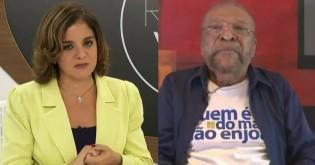 Vera Magalhães faz pergunta indecorosa, constrange Martinho da Vila e é repreendida pelo filho do músico (veja o vídeo)