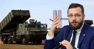 """Deputado vai pra cima da """"esquerdalha"""", diz que Forças Armadas é o """"Poder Moderador"""" e cita artigo 142 (veja o vídeo)"""