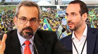 AO VIVO: Petistas querem a cabeça dos Weintraub / A farsa do 'Estado Democrático de Direito' / A luta dos brasileiros por liberdade (veja o vídeo)
