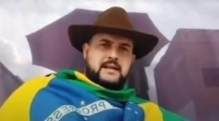 URGENTE: Zé Trovão grava novo vídeo, desafia Moraes e diz que a PF não vai prendê-lo (veja o vídeo)