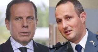 """""""Doria despreza a vida do policial militar"""", afirma Capitão (veja o vídeo)"""