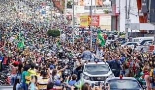 """Bolsonaro contraria Datafolha: Um """"maremoto"""" em pleno agreste Pernambucano! (veja o vídeo)"""