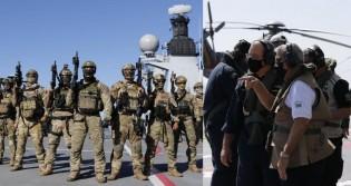 General Braga Netto acompanha de perto treinamento conjunto do Exército, Marinha e Força Aérea