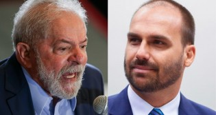 Eduardo Bolsonaro vence Lula em ação judicial