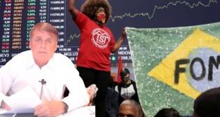 Bolsonaro ironiza MTST após invasão à Bolsa de SP e desmoraliza Boulos (veja o vídeo)