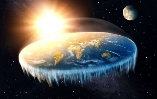 Os verdadeiros terraplanistas