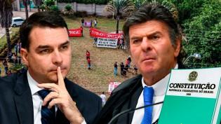 AO VIVO: Fux impõe ditadura sanitária / MTST na casa de Flavio Bolsonaro (veja o vídeo)
