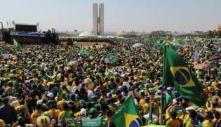 A nossa primavera árabe é verde e amarela!