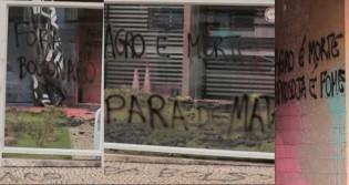 Exclusivo: TV JCO vai até a sede da Aprosoja e confere os estragos devastadores causados pelo terrorismo do MST (veja o vídeo)
