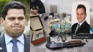 Cara de pau, Alcolumbre diz que prisão do primo, por tráfico de drogas, é retaliação do Planalto