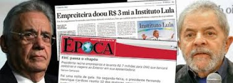 O contra-ataque petista: Instituto de FHC levou 5,7 milhões