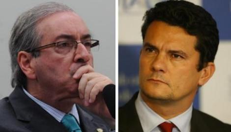 Eduardo Cunha bravateia e tenta tirar Moro do processo em que é acusado