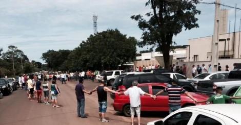 Dia histórico em Campo Grande: o povo faz bela manifestação contra a impunidade
