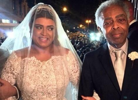 Gil não usou dinheiro da lei Rouanet para fazer casamento de Preta