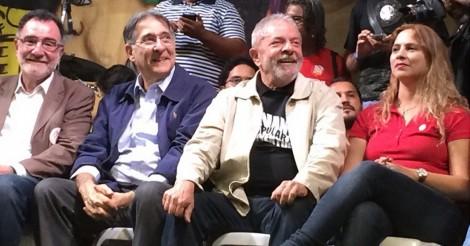 Lula entrega os pontos e já admite que não disputa a presidência em 2018 (ouça o áudio)