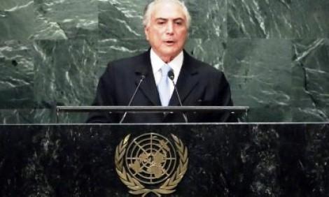 Venezuela abandona auditório da ONU durante discurso de presidente do Brasil