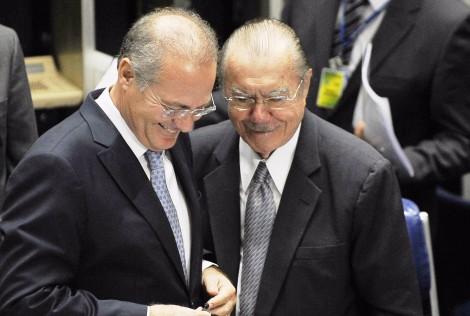 Renan e Sarney, sinônimos de ilicitude e impunidade, comandavam a trama contra a PF