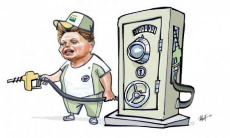 Mais uma aberração: Dilma vai receber 'cartão-combustível'