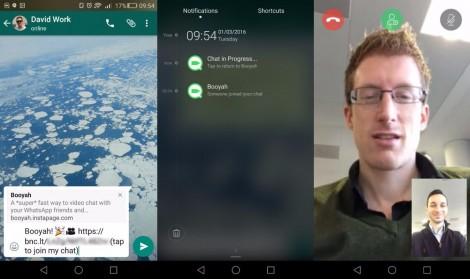 Vídeo chamadas, novo recurso do WhatsApp