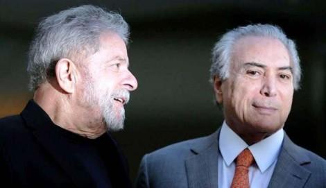 Temer se posiciona publicamente sobre a possibilidade da  prisão de Lula