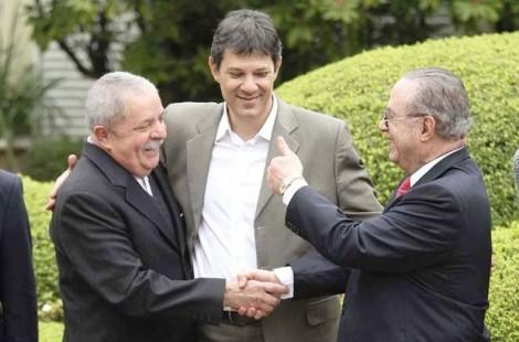Lula e Maluf são irmão siameses (Veja o vídeo)