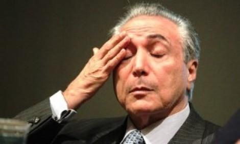 A infame e milionária dieta de Michel Temer, com o dinheiro do povo brasileiro