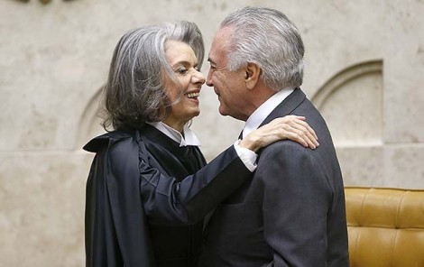 'Do Supremo cuido eu' disse arrogante Carmen Lúcia a Sérgio Moro