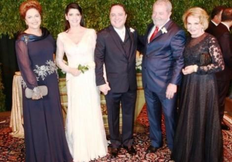 Casamento de Kalil reuniu a nata do petismo e inúmeros envolvidos na Lava Jato (veja o vídeo)