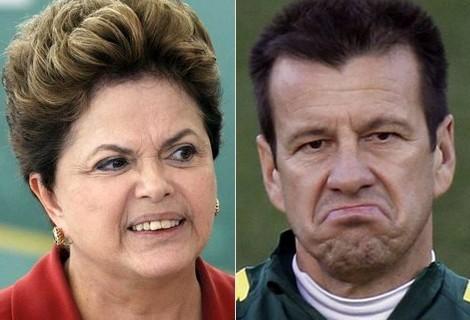 O Brasil, nossa seleção, o Dunga, a Dilma, o Tite e Michel Temer