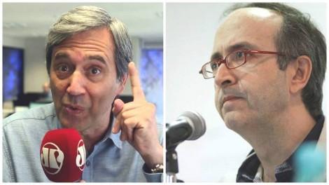 Villa detona o 'lacaio' Reinaldo Azevedo (veja o vídeo)