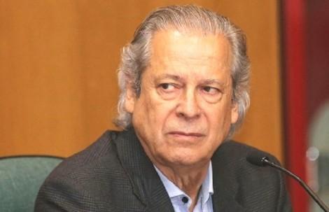 Com medo de reação popular, Zé Dirceu está escondido em Brasília