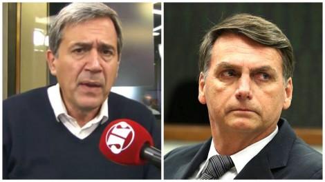 Villa insulta e desafia Bolsonaro, que aceita o debate e devolve os insultos (veja o vídeo)