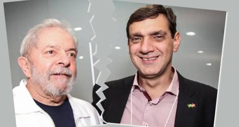 Marcos Cláudio ameaça romper com Lula