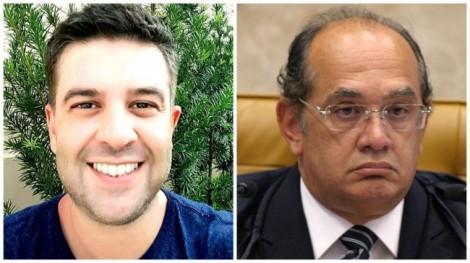 Jornalista avisa que está de 'cara e corpo pintados' para a guerra contra Gilmar Mendes