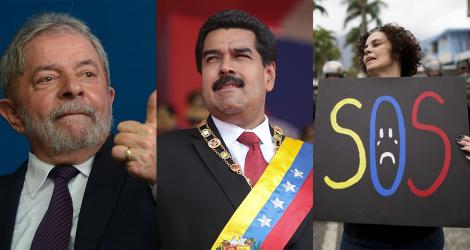 Com apoio psicopata do PT, PSOL e PCdoB, ditadura sanguinária venezuelana volta a prender opositores (veja os vídeos)