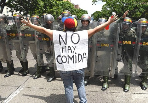 Venezuelanos, que tal a vida imitar a arte?