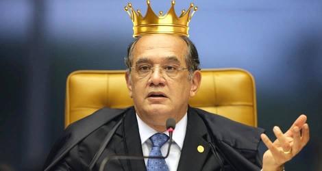 Sua majestade, o ministro Gilmar Ferreira Mendes