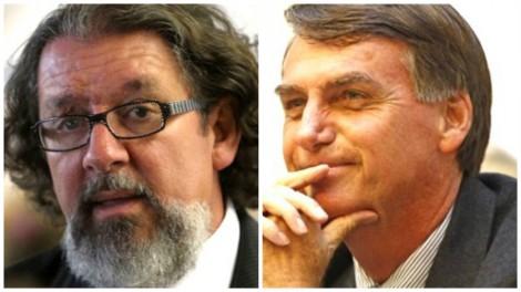 Kakay possesso com Bolsonaro, que acusa de 'golpe baixo'