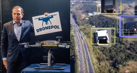 Preparem os bolsos: nada escapa aos drones da prefeitura de São Paulo (veja o vídeo)