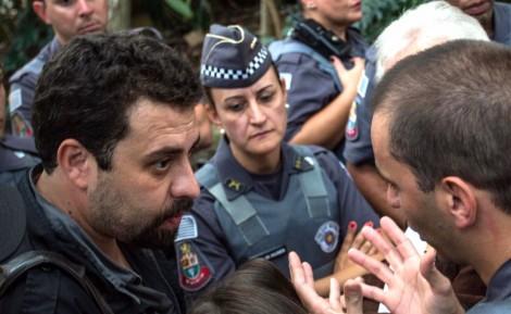 Na véspera da decisão sobre desocupação de área, Boulos desafia os desembargadores do TJ-SP