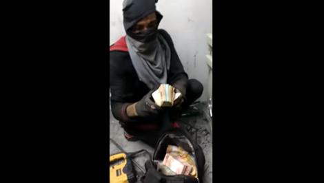 Bandidos ostentam roubo nas redes sociais e fazem crítica a políticos (veja o vídeo)