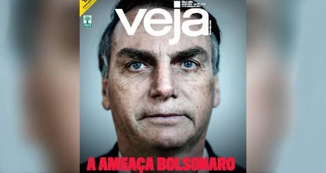 """Repórteres de """"Veja"""" atiram às cegas contra Bolsonaro"""
