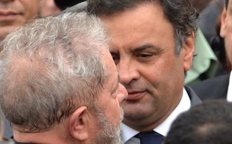 Lula diz que Aécio plantou ódio e está colhendo tempestade. E você Lula, está colhendo o que?