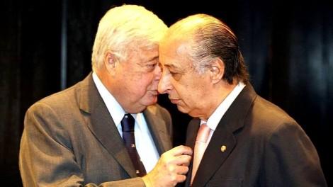 Teixeira e Del Nero, ex e atual presidentes da CBF, estão refugiados no Brasil (veja o vídeo)