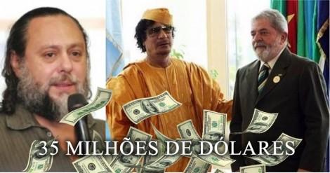 O homem encarregado de trazer US$ 35 milhões de Kadafi para Lula abre o jogo (veja o vídeo)