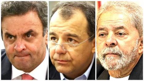 Exclusivo: PF investiga e pode desvendar sociedade oculta entre Aécio, Cabral e Lula